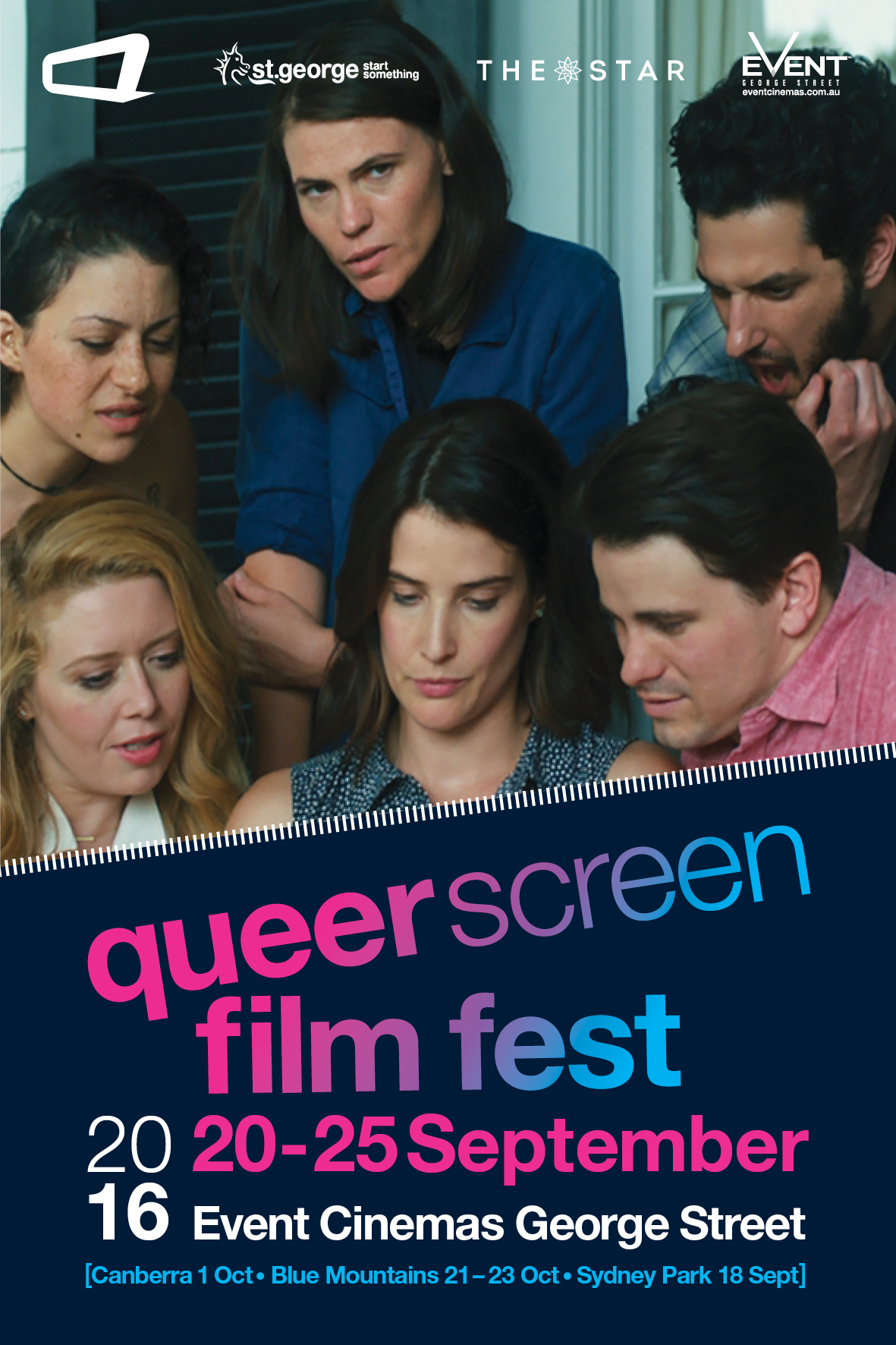 Queer Screen Film Fest 2016