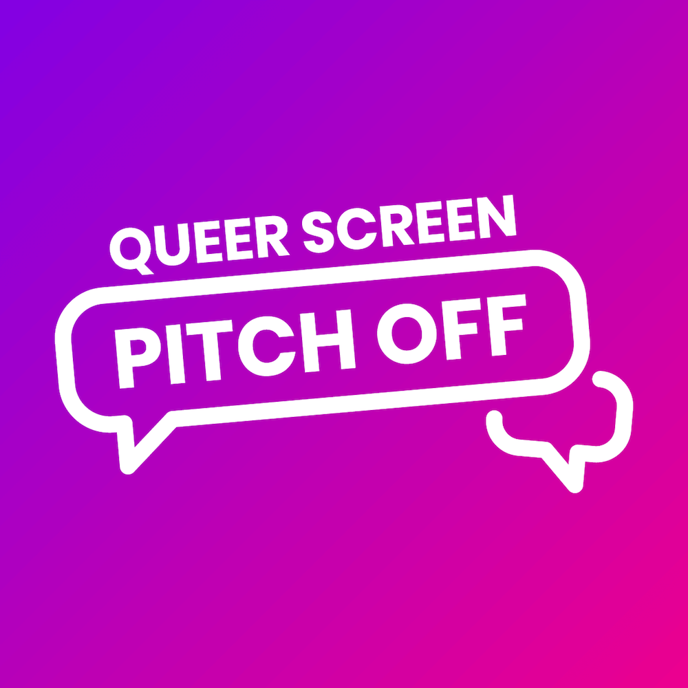 Queer Screen Pitch Off Logo