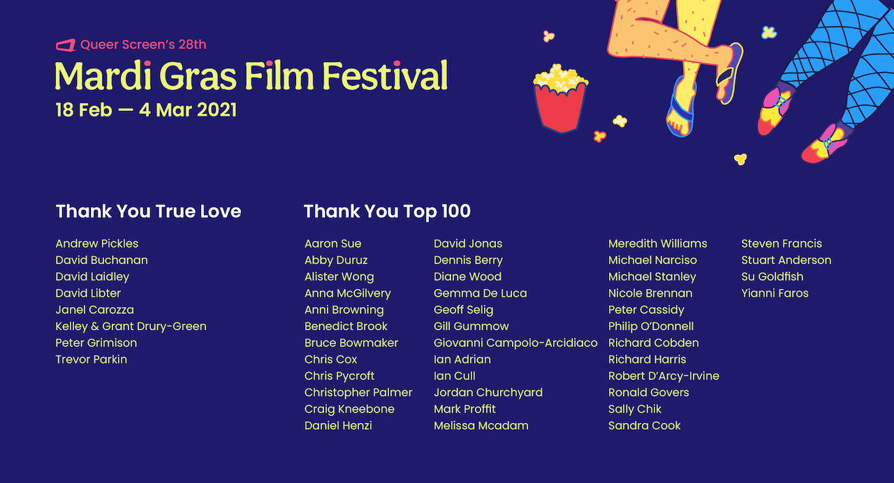 MGFF21 Donors List
