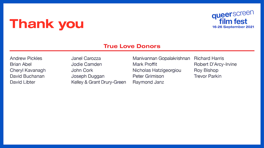 Thank You true Love Donors